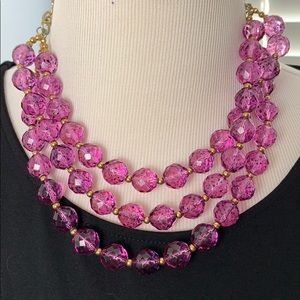 Kenneth Lane multistrand necklace worn once!